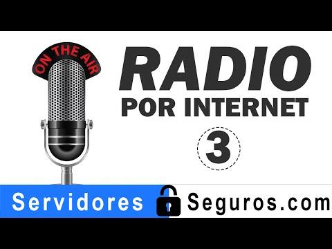 HACER ESTACION DE RADIO POR INTERNET PARTE 3