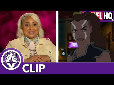 Raven-Symoné on Playing Valkyrie   Marvel's Guardians of the Galaxy: Mission Breakout!   FEATURETTE