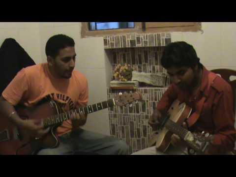 laila o laila on guitar