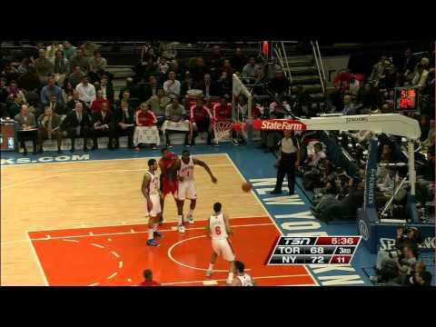 Bargnani Full Highlights @ Knicks Dec 8th 2010 HD