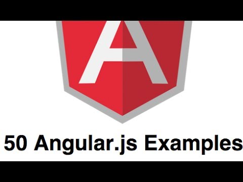 Introduction to Angular.js in 50 Examples (part 1)