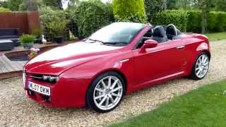 Video Review of 2007 Alfa Romeo Spider 3.2 V6 Q4 For Sale SDSC Specialist Cars Cambridge
