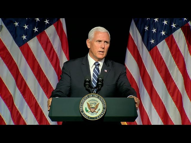 Pence to unveil plan to establish Trumpвs Space Force
