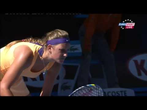Tenis   Australian Open 2013   Victoria Azarenka vs Sloane Stephens   24 01 2013   część 2   Komenta