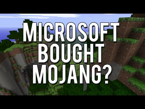 Microsoft Buying Mojang Opinions [Minecraft: Commentary]