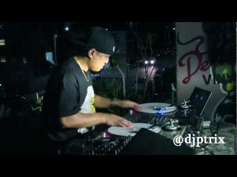 DJ P-Trix @ Delicious Vinyl Turntablism Showcase (October 26th 2012)