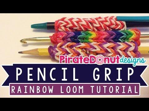 Pencil or Hook Grip Tutorial for Rainbow Loom