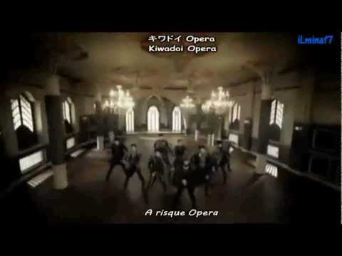 Super Junior - Opera [English sub + Romaji + Kanji]
