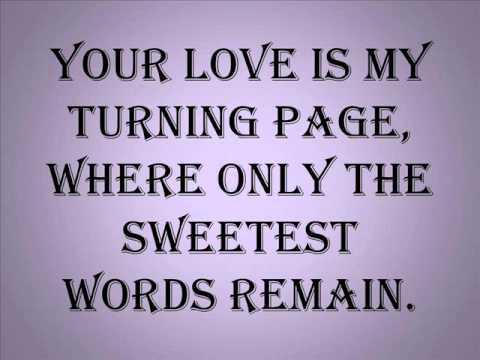 Turning Page (Lyrics)- Breaking Dawn OST