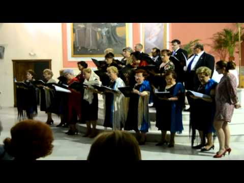 Coral Maria Auxiliadora Zurgena.V Semana Musica La Loma de Albox
