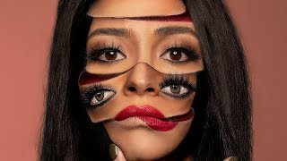 My Insane Surreal Makeup Look with Mimi Choi! | Shay Mitchell