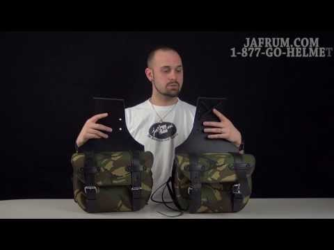 Highway Hawk Economy Camouflage Small Saddlebag Review - Jafrum.com