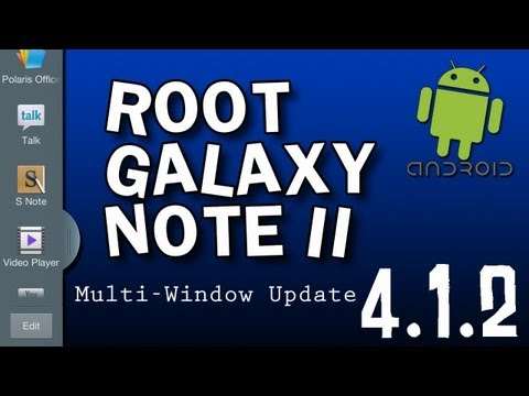 Galaxy Note 2 Root SGH-I317 4.1.2