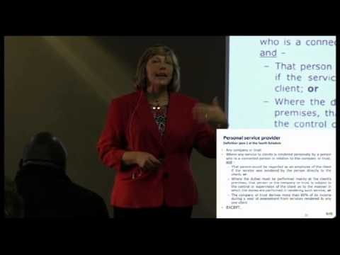 Tax and SMME Part 3 – Independent Contractors and Personal Service Providers