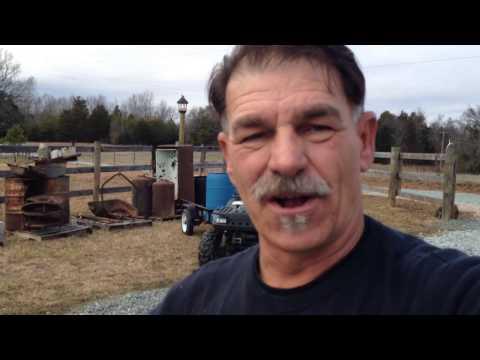 SALVAGING OLD MOONSHINE STILL / OFF GRID FARM.