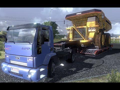 ETS 2 Transportando Caminhao mineraçao Caterpillar 777 CARGA ESPECIAL