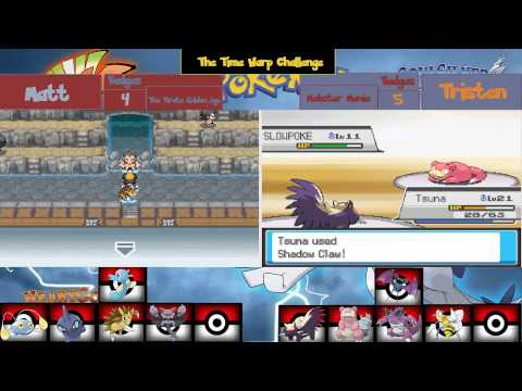 Pokemon Heart gold and soul silver split-screen: The Time Warp challenge:Episode 23