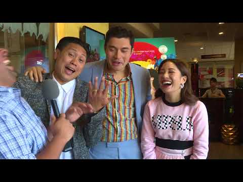Jon M. Chu, Henry Golding, And Constance Wu - Crazy Rich Asians