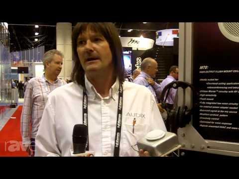 InfoComm 2013: Audix Microphones Returns The Ceiling Microphone
