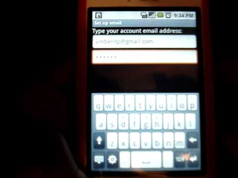 How to setup an another email account on your T-Mobile myTouch 3G