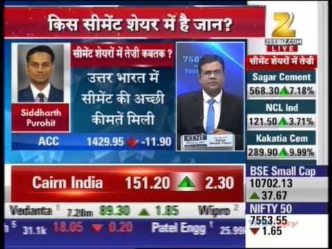 Zee Business Sensex Strategy, 11 April 2016 - Mr. Siddharth Purohit, Angel Broking