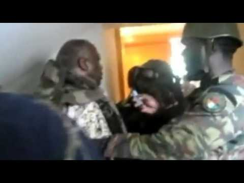 Dramatic video of former Ivory Coast President Laurent Gbagbo arrest