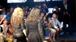 Beyonce House of Dereon fashion show 2011