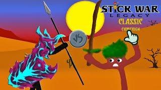 Stick War: Legacy Huge Update   1 VAMP SPEARTON VS Swordwrath Counter   Gameplay 2019 (Part 246)
