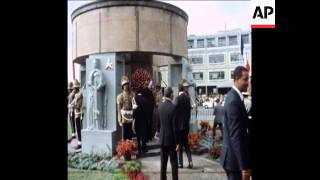 History: 1973 PRESIDENT POMPIDOU TOURS ADDIS ABABA AND MEETS HAILE SELLASIE