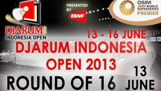 R16 - WS - Sayaka Takahashi vs.  Saina Nehwal - 2013 Djarum Indonesia Open