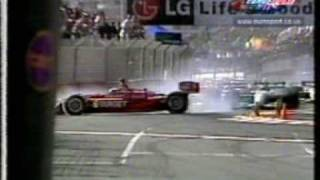 CART pile-up at Surfers Paradise 2000