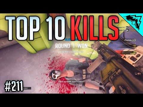 SIEGE BATHROOM - Top 10 Plays Rainbow Six Siege (WBCW #211) Siege Top 10 Kills of the Week