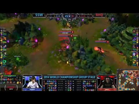 Mundial League of Legends 2014 - Jugadas, runas/maestrias, picks y mas! EP 1
