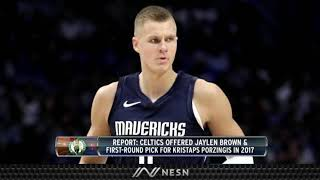 Kristaps Porzingis For Jaylen Brown, The NBA Trade That Almost Happened