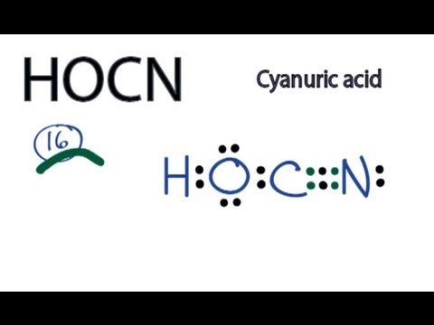 hocn lewis structure related keywords