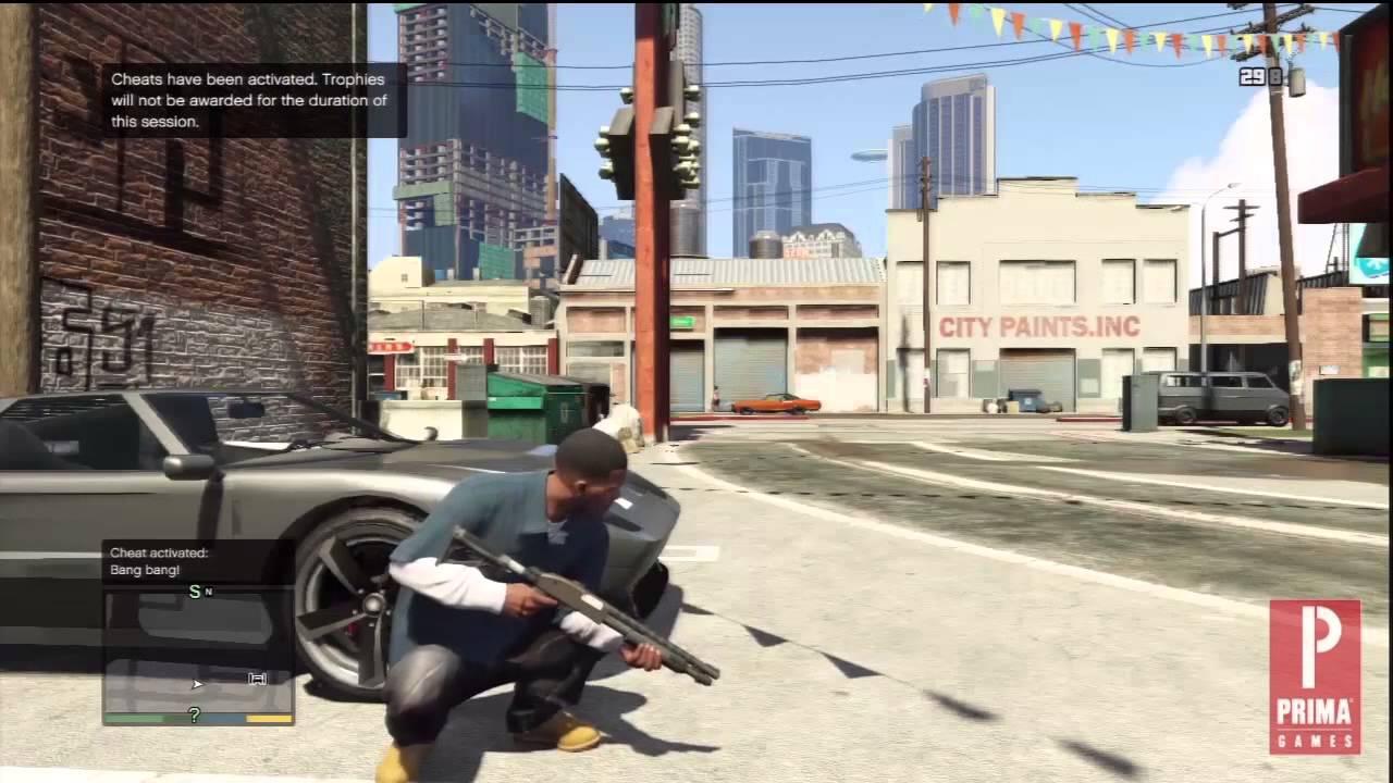 GTA 5 Cheats Explosive Ammo YouTube