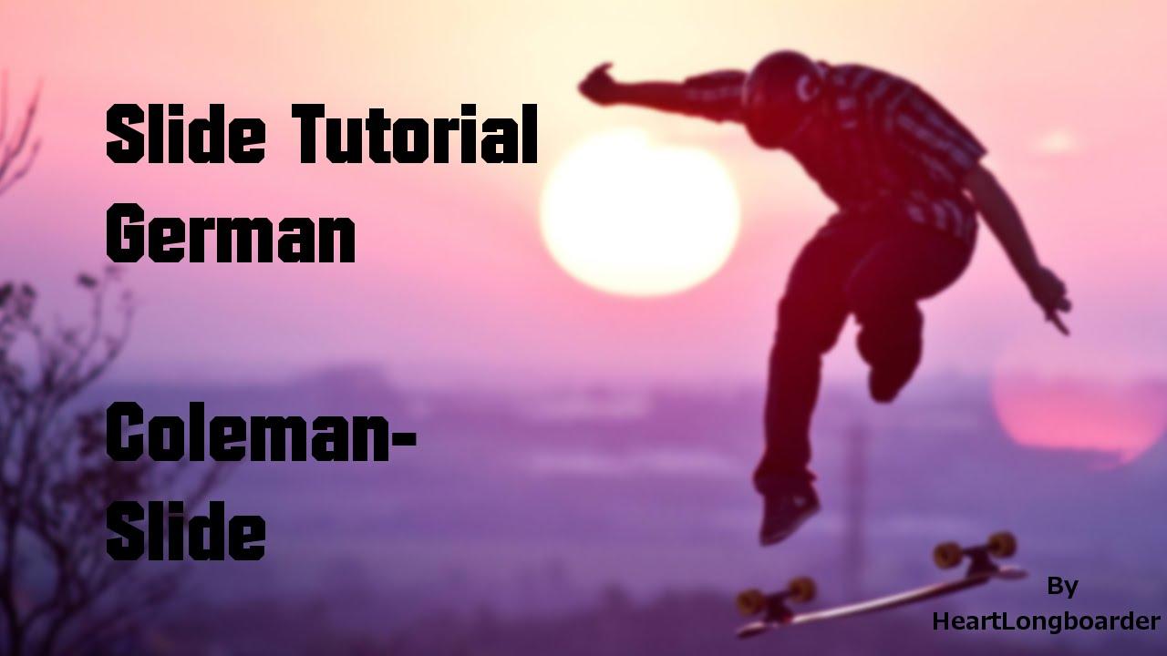 Как сделать колеман слайд