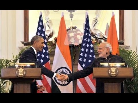 PM Modi & President Obama Joint Press Interaction, New Delhi