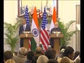 PM Modi & President Obama Joint Press Statement, New Delhi