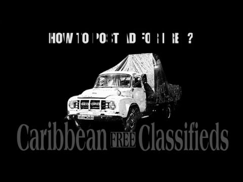 Caribbean Classifieds = Caribbean FREE Ads - HOW TO POST AD?