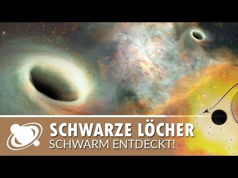 Schwarm schwarzer Löcher in der Milchstraße gefunden (2018)