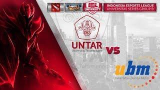 UNIVERSITAS TARUMANAGARA VS UNIVERSITAS BUNDA MULIA @IEL 2019: University Series (MLBB - DOTA 2)