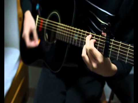 Taylor Swift - Ours guitar cover by KuanSteve (with chords)