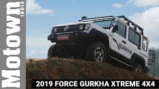 2019 Force Gurkha Xtreme 4X4    First Drive   MOTOWN INDIA