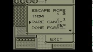 Pokemon Red/Blue Rare Candy/Missingno Glitch in Vermillion City!