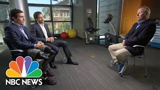 Download Jake Gyllenhaal And Jeff Bauman On The Inspiring Message Of 'Stronger' | NBC News 3Gp Mp4