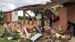 Churchgoers: Saved from tornado by the grace of God