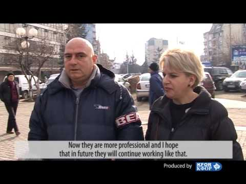 People's view on Kosovo Police