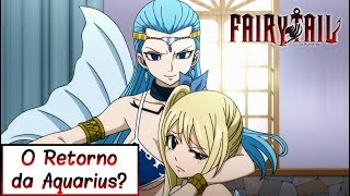[Review] O RETORNO DA AQUARIUS? - Fairy Tail 296
