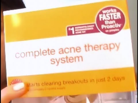 Review: Neutrogena Acne Therapy System (my initial thoughts)